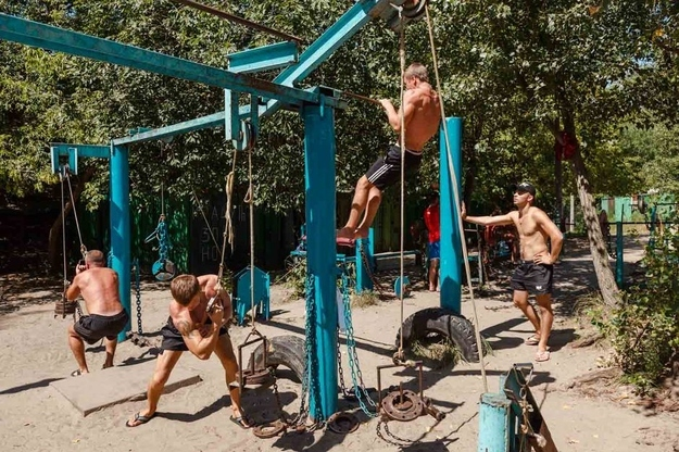 The Unique Gym Was Created By Kyivan Yuriy Kuk And His Colleagues From The  Cybernetics Institute In The 1970s. Some Machines Have Since Been Replaced,  ...