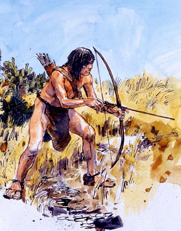 лук и стрелы первобытного человека картинки полностью недоступным