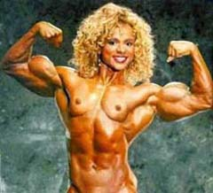 Naked Female Heavy Muscle 107