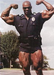 Police officers on juice | JuicedMuscle.com